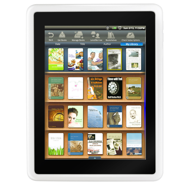 Pandigital Novel Android Color e-Reader