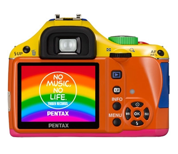 Pentax K-x 'Rainbow Colors' Limited Edition DSLR
