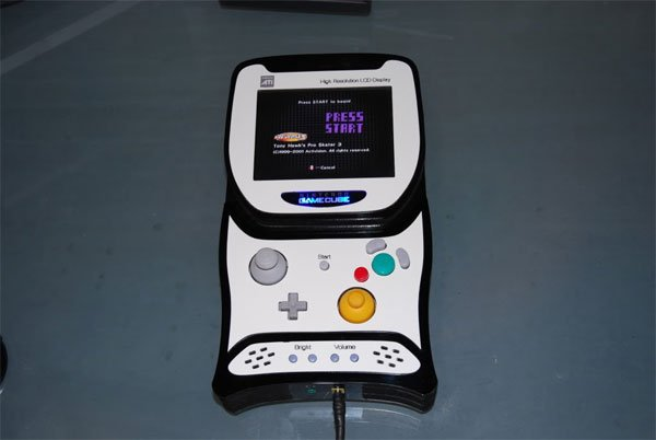 Awesome Portable Gamecube Mod