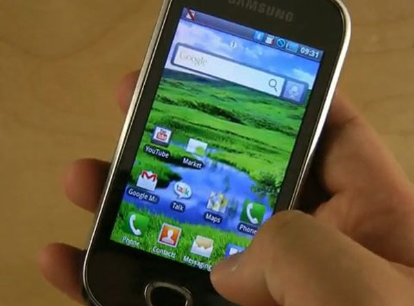 Samsung I5801 Android Smartphone Leaked