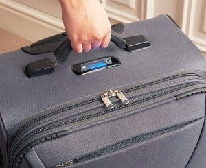The Self Weighing Suitcase