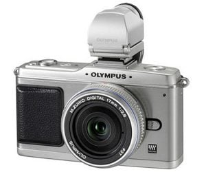Silver Olympus PEN E-P2 Announced