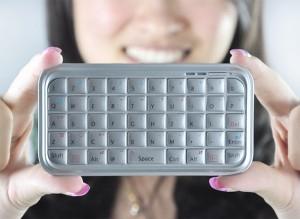 Smartphone Mini Bluetooth Keyboard
