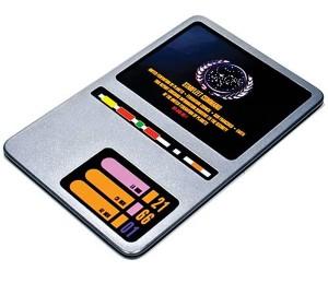Star Trek TNG DS9 PADD Replica
