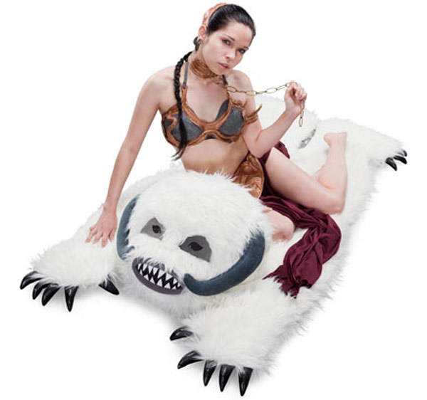 Star Wars Furry Wampa Rug