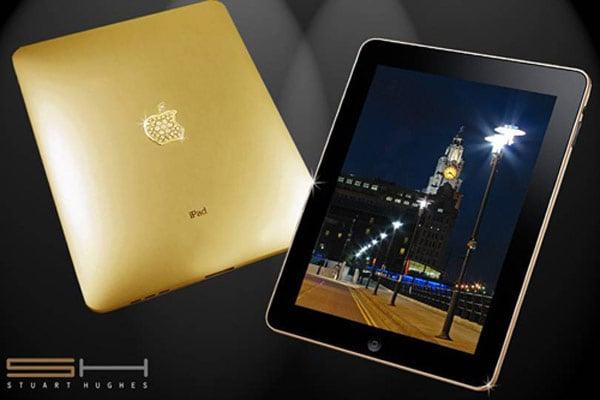 The $189,000 Gold And Diamond iPad