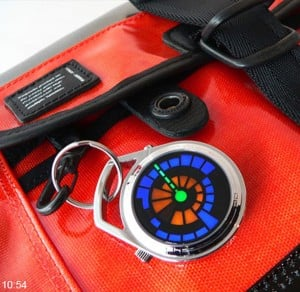 Tokyoflash Kisai Round Trip Pocket Watch