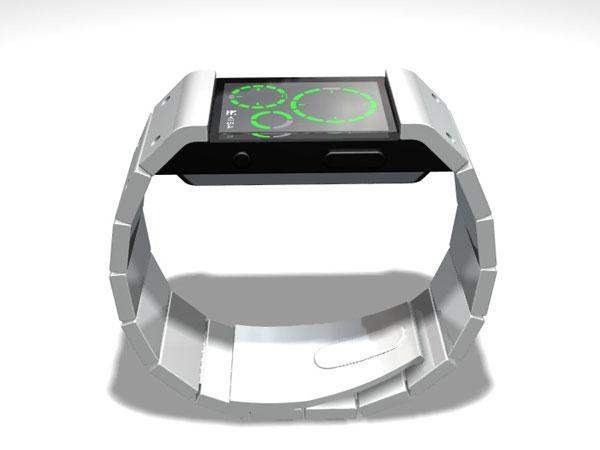 Tokyoflash Sensha Watch Concept