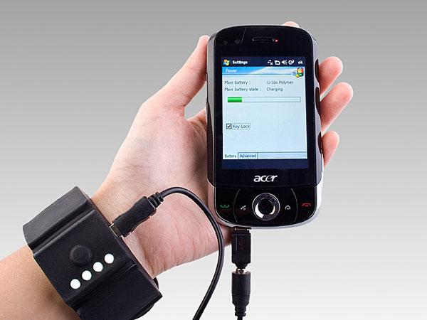 USB Wrist Band Battery