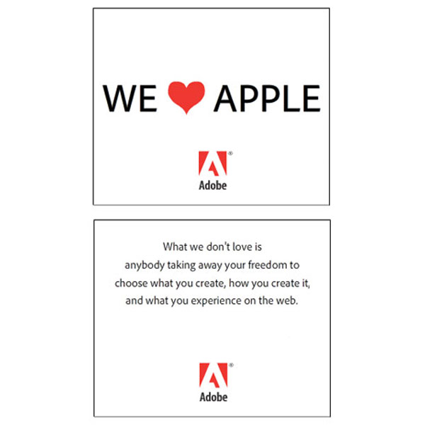 Adobe's Founders Post An Open Letter To Apple