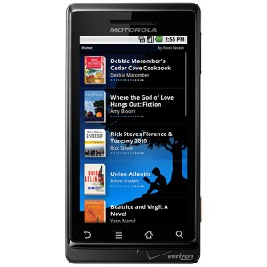 Amazon Announce Kindle App For Android Smartphones
