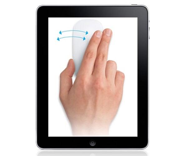 Jailbroken iPad Gets Bluetooth Magic Mouse Hack
