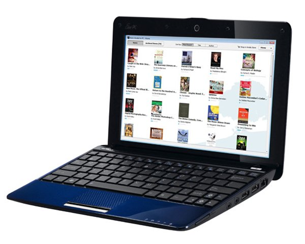 Asus Notebooks And Netbooks To Come With Kindle PC App