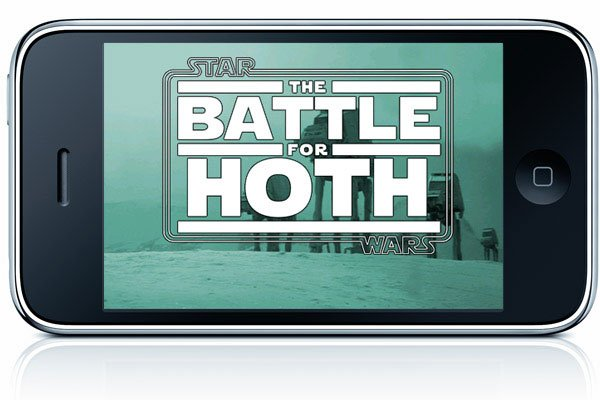 Battle for Hoth iPhone Game