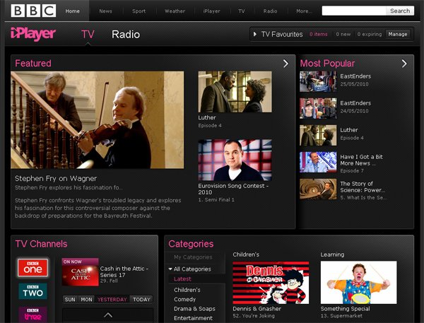 BBC's New iPlayer Features Facebook And Twitter Integration