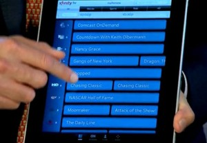 Comcast Xfinity Remote iPad Lets You Control Your TV