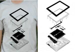 The Exploded iPad T-Shirt