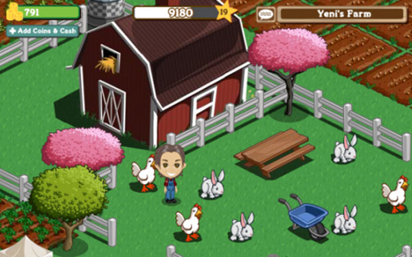 Facebook And Farmville Developer Zynga Strike A Five Year Deal