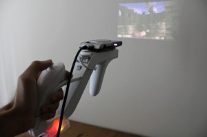 FPS Gaming Using A Projector And A Wii-Gun