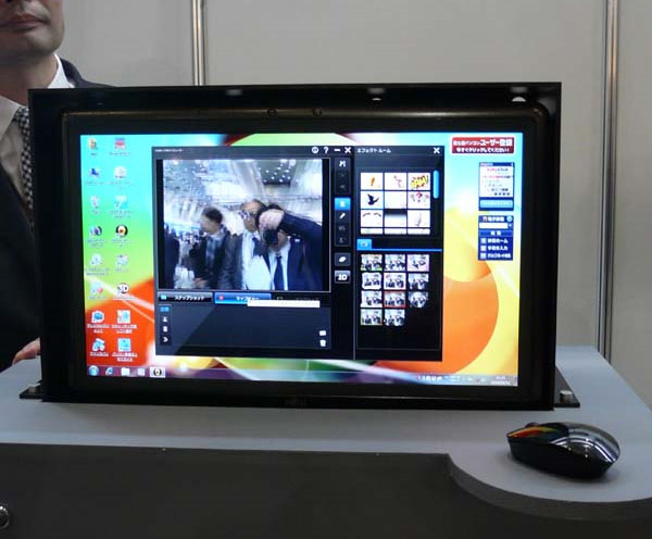Fujitsu Demonstrates 3D Desktop PC