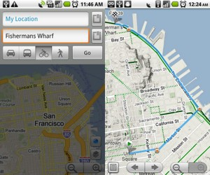 Google Maps For Android Gets Bike Routes, Location Sharing