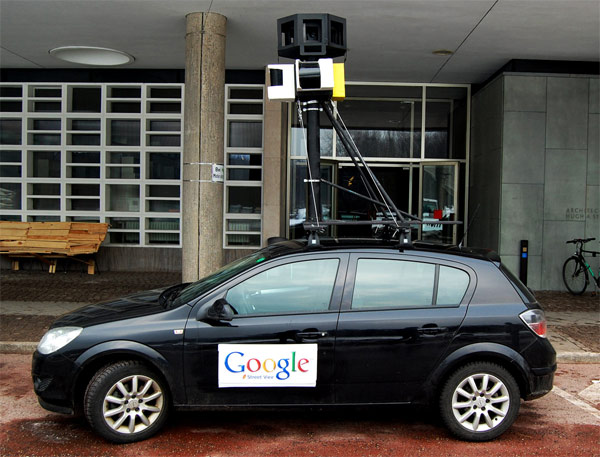 Google's Street View Cars Collected Private Data