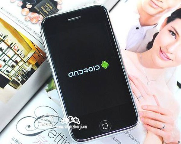 iOrange Raptor F22 iPhone Clone Runs Android