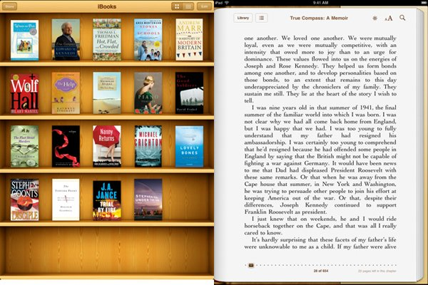ibooks uk ipad
