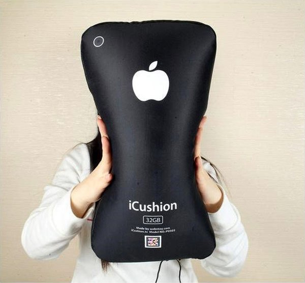 iCushion iPhone Shaped Pillow