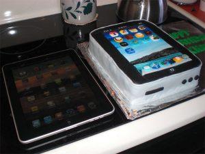 The iPad Birthday Cake