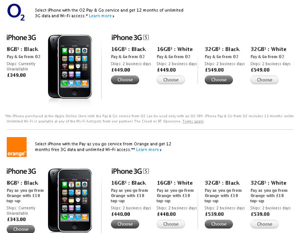 Has Apple Discontued The iPhone 3G