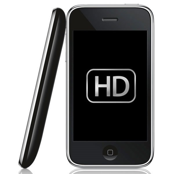 iPhone 4G To Get 720p HD Video Recording?