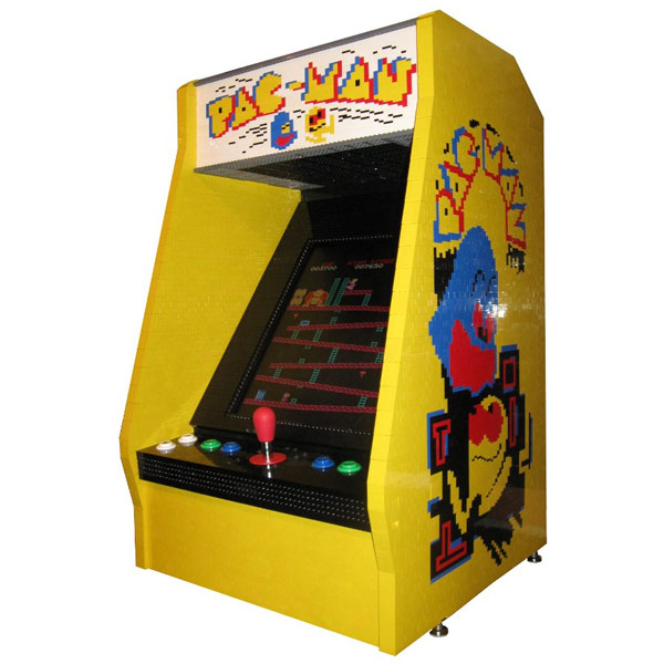Awesome Lego Arcade Game Cabinet