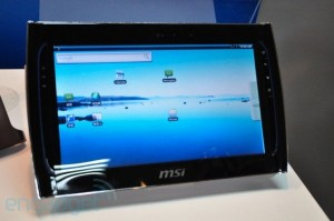 MSI Shows Off WindPad 100 and WindPad 110 at Computex