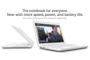 Apple MacBook Updated – 2.4GHz Processor And 10 Hour Battery Life