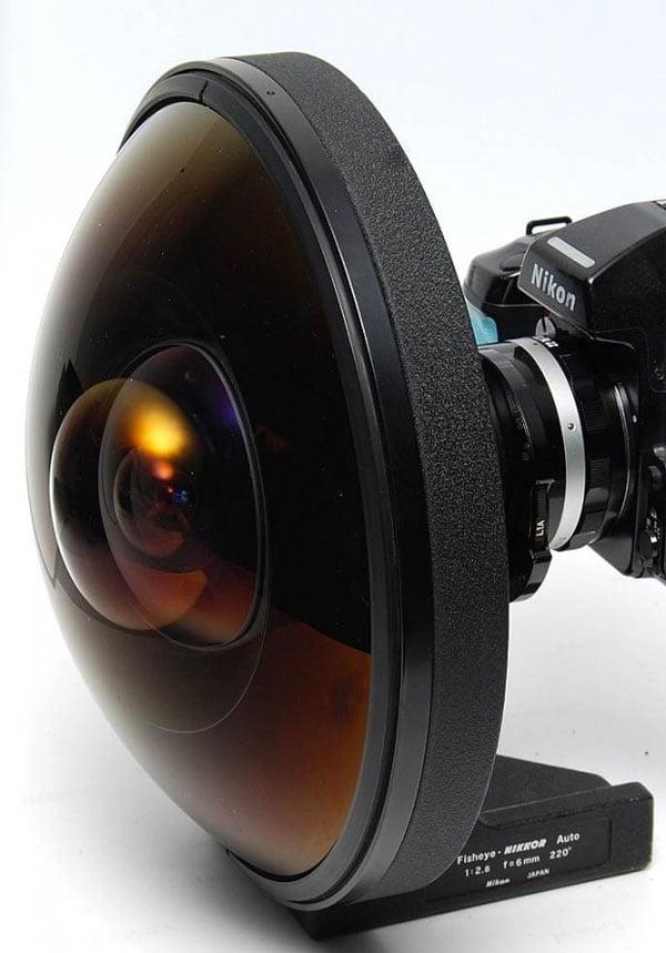Nikkor 6mm f/2.8 Fisheye Lens