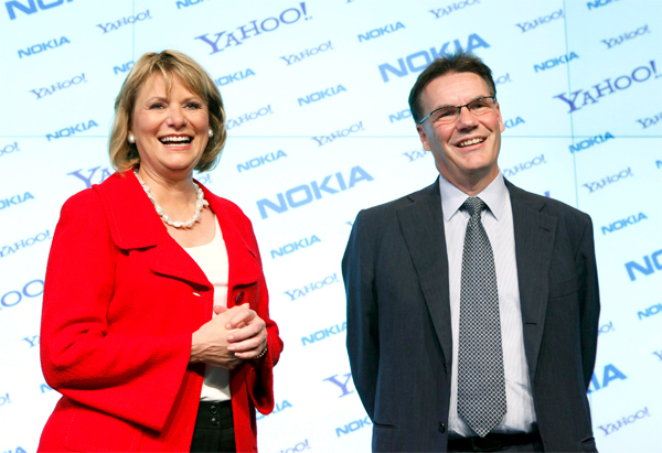 Nokia And Yahoo Form Partnership For Online Services