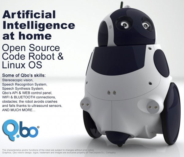 Qbo Linux Robot