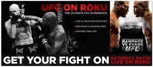 Roku Streaming Media Player gets UFC Channel