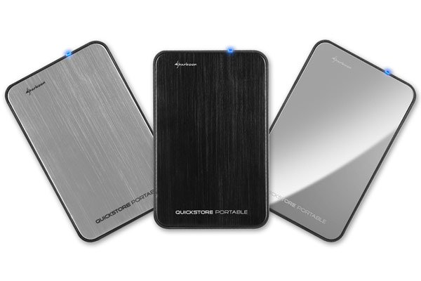 Sharkoon Launches QuickStore Portable USB 3.0 HDD Enclosure