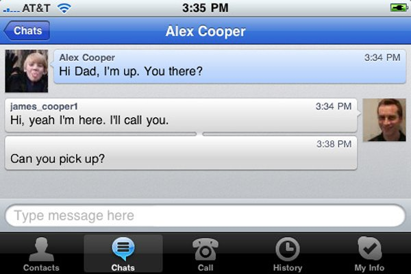 Skype iPhone App Now Allows 3G Skype To Skype Calls