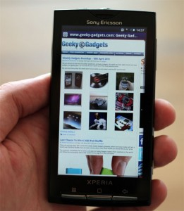 Sony Ericsson Xperia X10 To Get Android 2.1 In Q4 2010