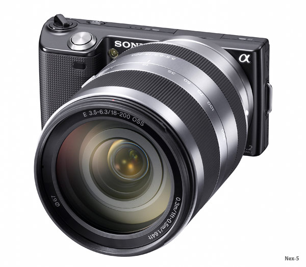 Sony Nex-3 And Nex-5 Cameras - Full Details