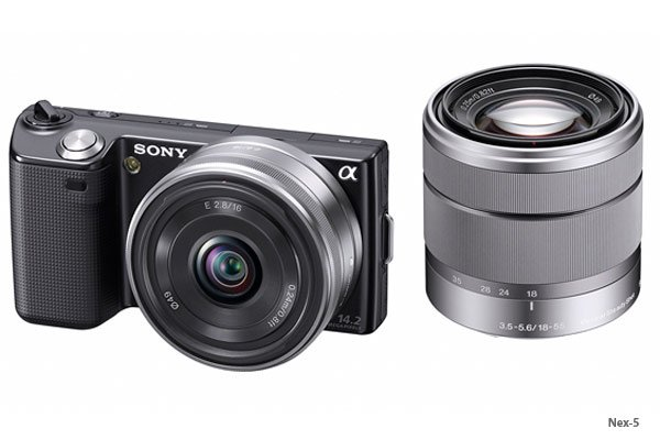 Sony Nex-3 And Nex-5 Cameras - Full Details