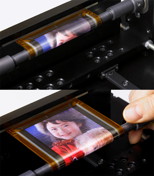 Sony's Rollable OLED Display - More Details