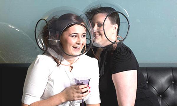 Speech Bubble Helmets Make Sure You Hear Everything
