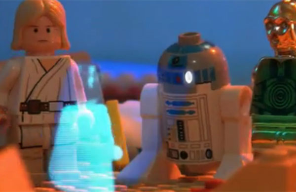 Star Wars Trilogy In Lego Retold In 2 Minutes - Video