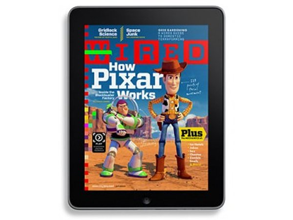 Wired Magazine's iPad App In Action (Video)