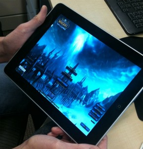 World of Warcraft Streamed To The Apple iPad