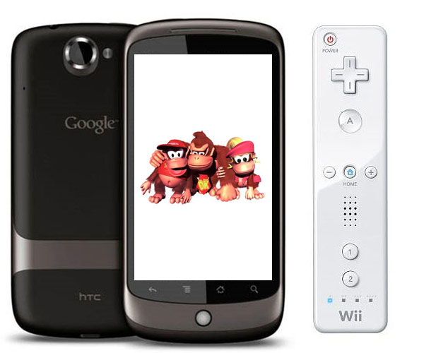 Wiimote Used For Gaming On the Nexus One
